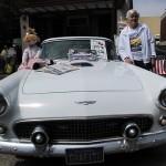 The '56 T-Bird with Petaluma Owner Clay Daily