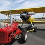 Plane Towing Petaluma-style